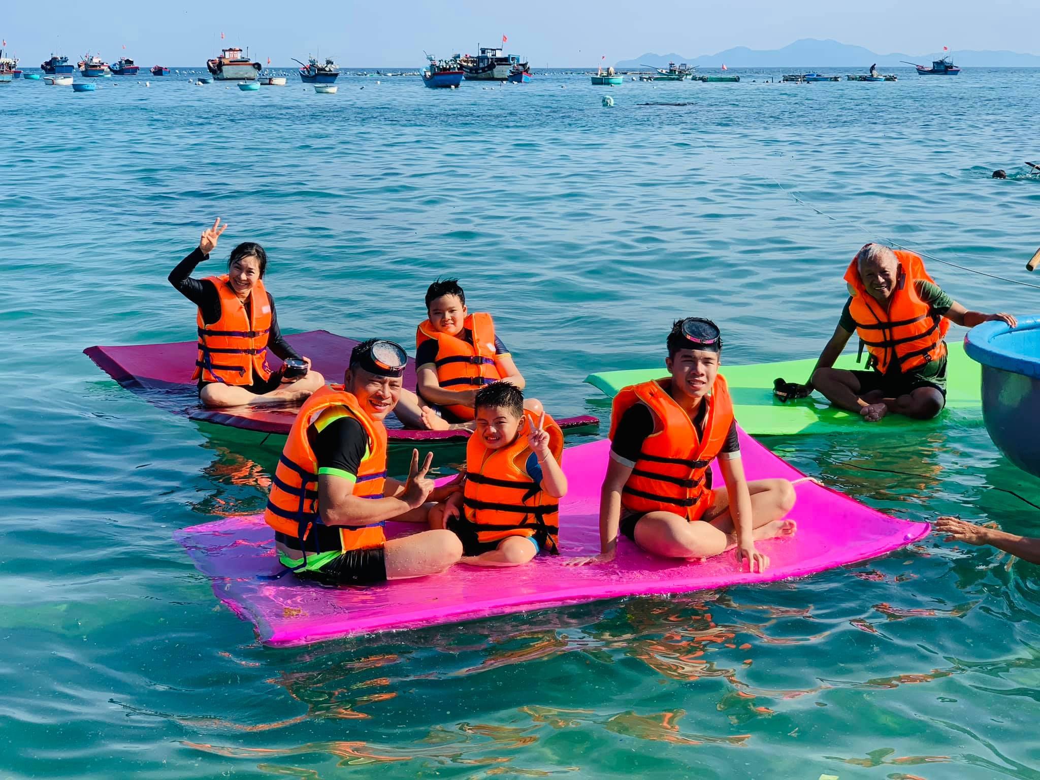 Vui chơi trên đảo Cù Lao Xanh