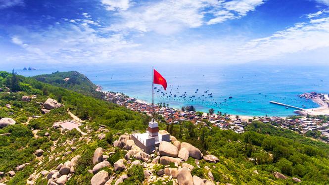Cột cờ Cù Lao Xanh