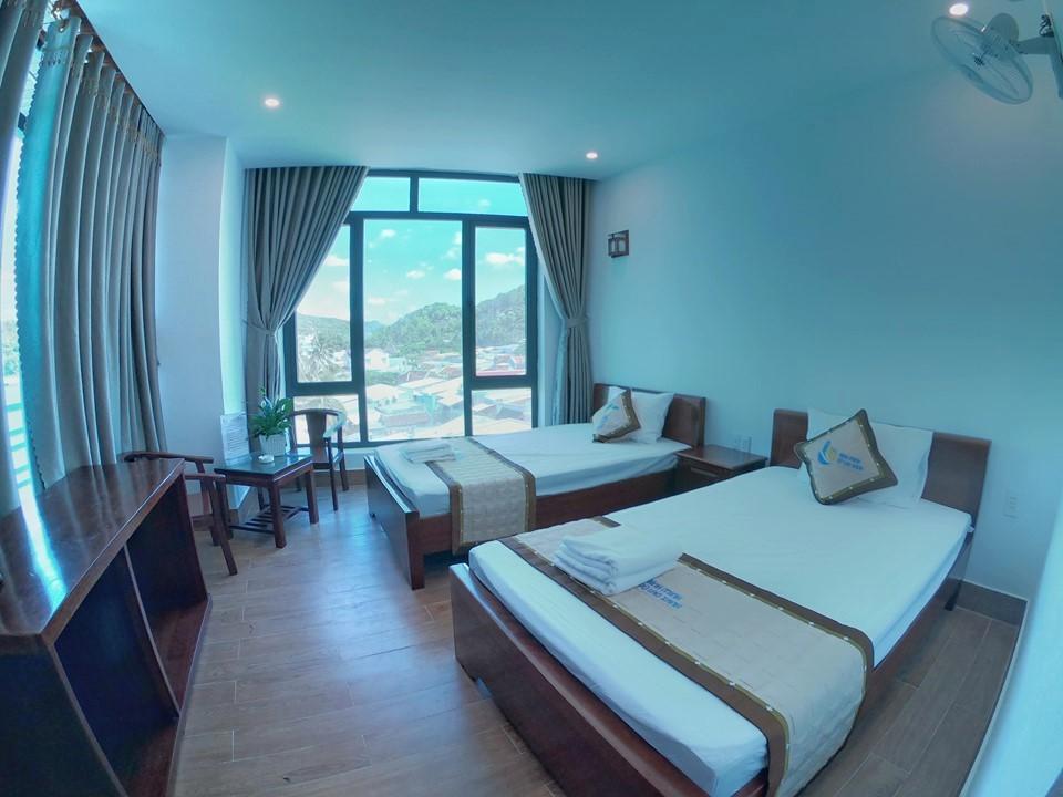 khách sạn cù lao xanh gần biển